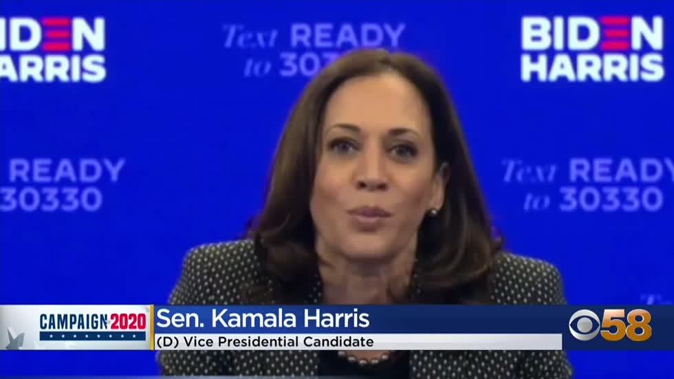 VP hopeful Kamala Harris hosts 'Get Out The Vote' rally for...