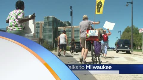 Father walks from Wichita to Milwaukee to get justice for his...