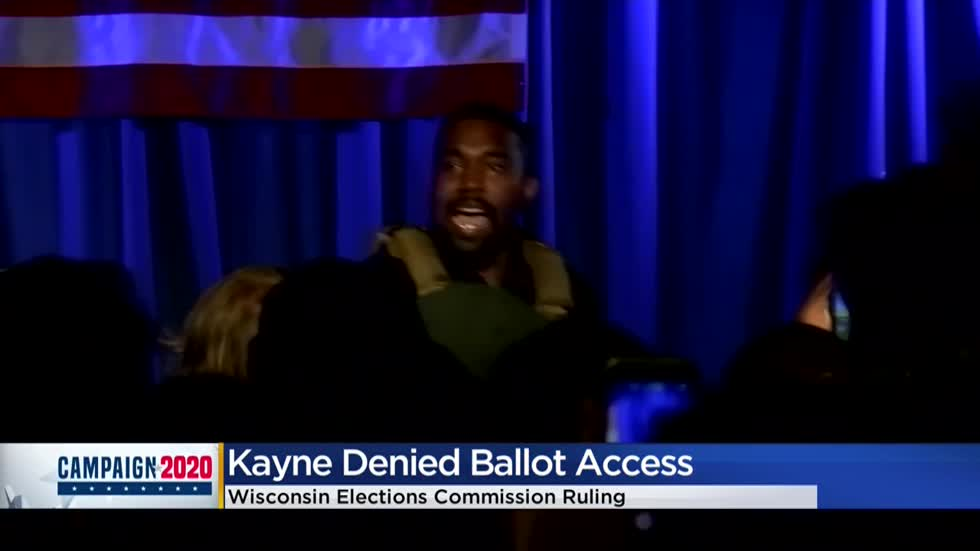 Wisconsin Elections Commission denies Kanye West's bid to appear on ballot citing late registration