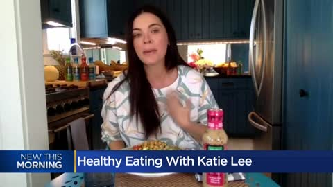 Eating healthy at home with celebrity chef Katie Lee