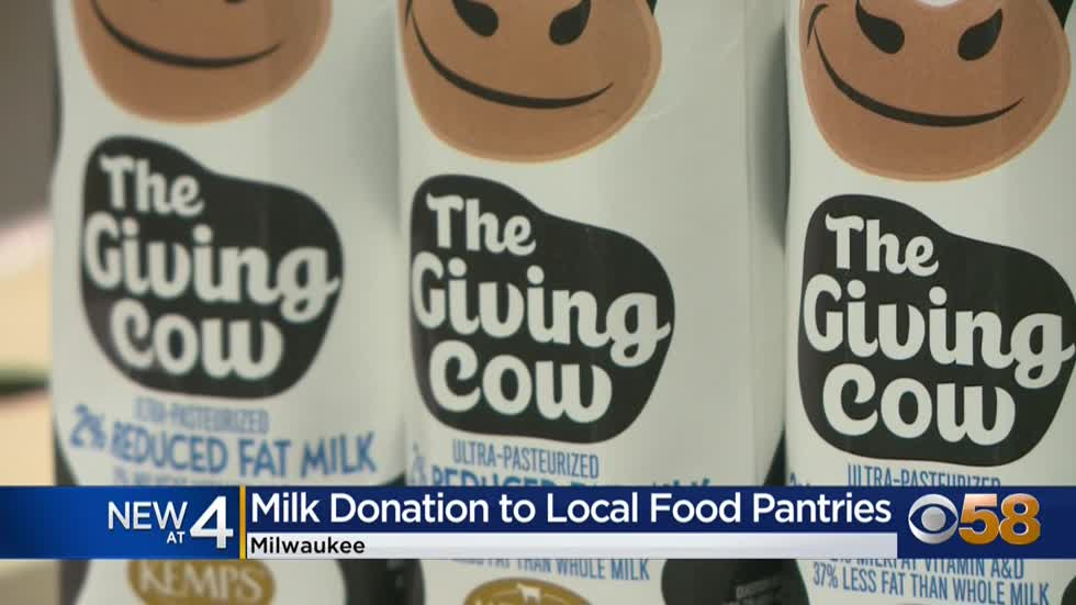 Kemp donates 175K shelf-safe milk cartons to Wisconsin food banks