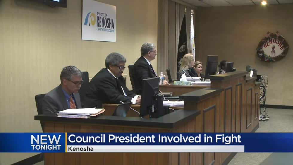 Coworker files restraining order against Kenosha City Council president after altercation