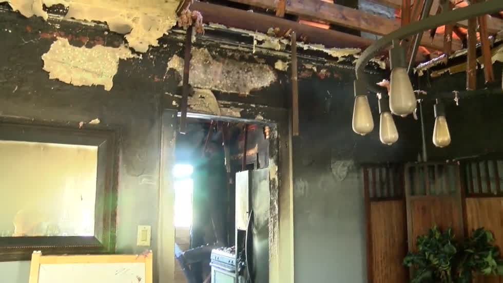"""I am just thankful:"" Neighbors rescue Kenosha family from burning home"