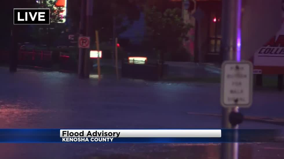 Overnight rains inundate parts of Kenosha