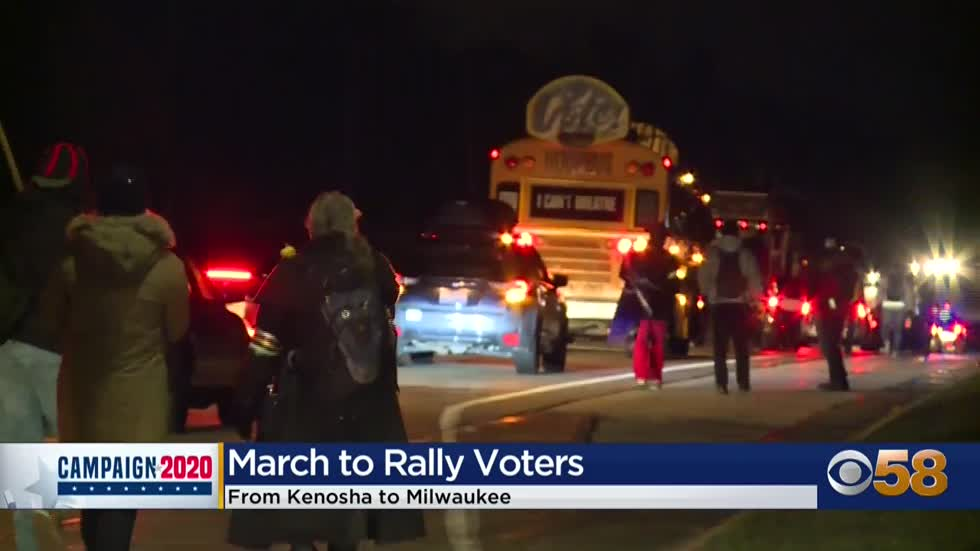 March from Kenosha to Milwaukee kicks off