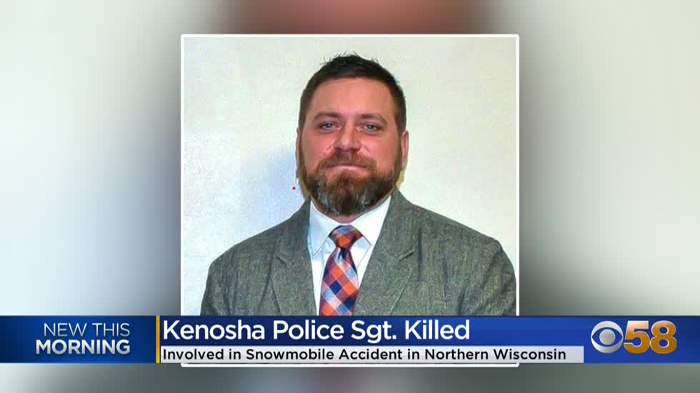 Kenosha Police sergeant dies in snowmobile accident