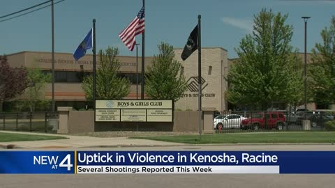 'It's pitiful:' Kenosha and Racine police respond to multiple shootings in a week's time