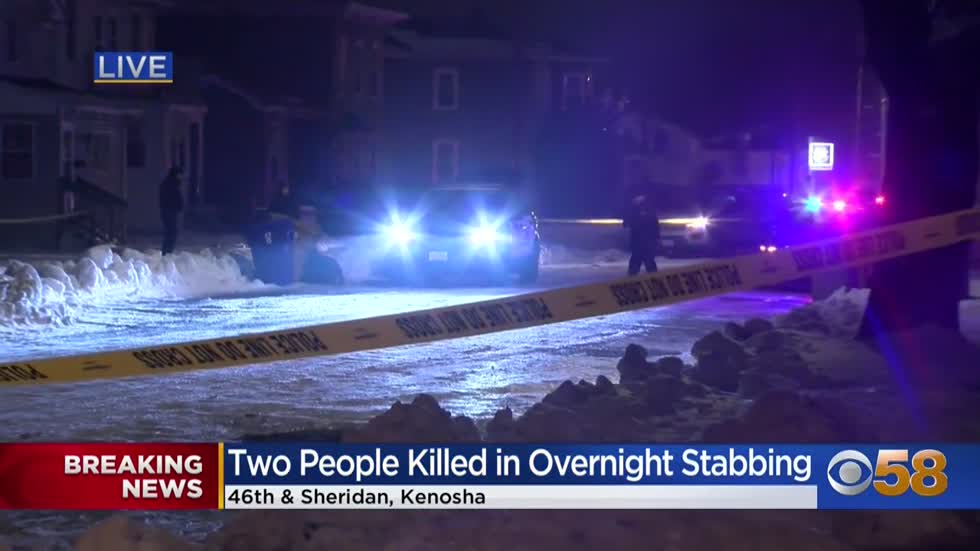'Scary to wake up to this:' 2 dead in Kenosha stabbing, 1 in custody