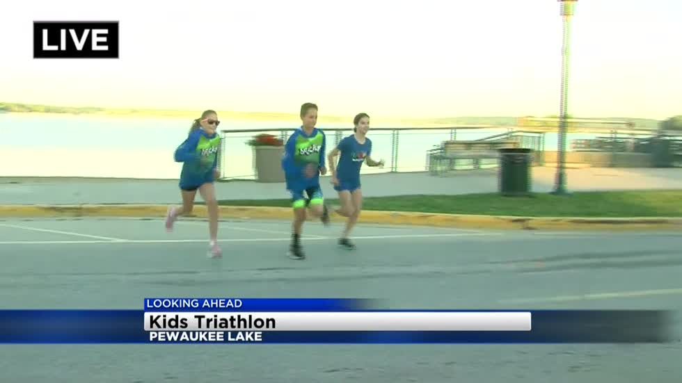 Kids get their own triathlon this weekend in Pewaukee