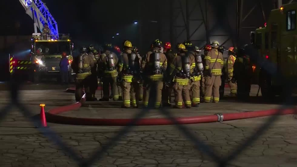 UPDATE: Fire at Kohler Company started in iron foundry, no one hurt