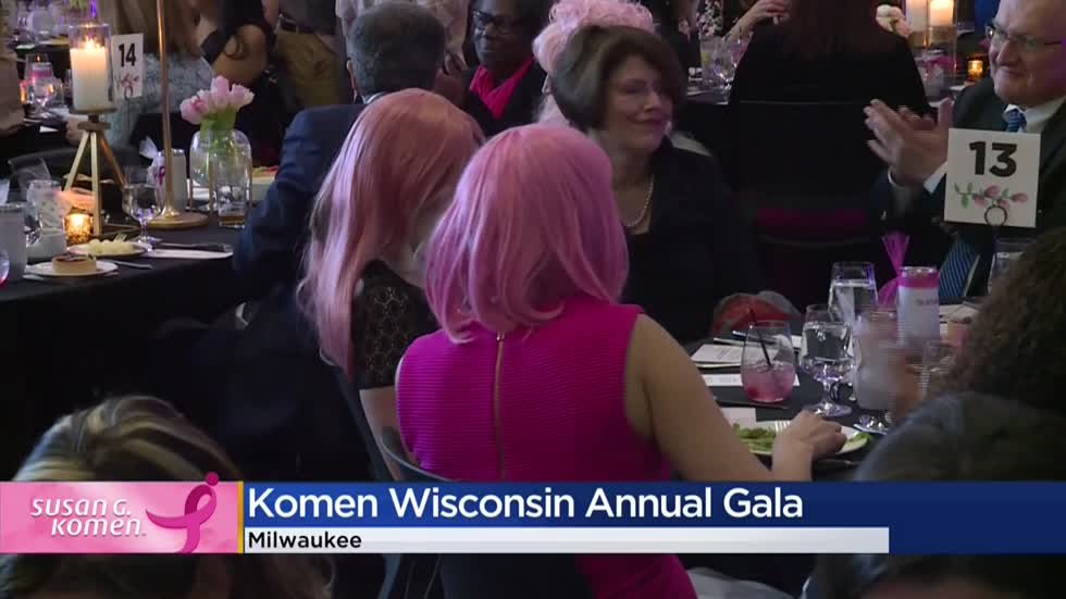 'More Than Pink Gala' hosted in Milwaukee supports fight against breast cancer