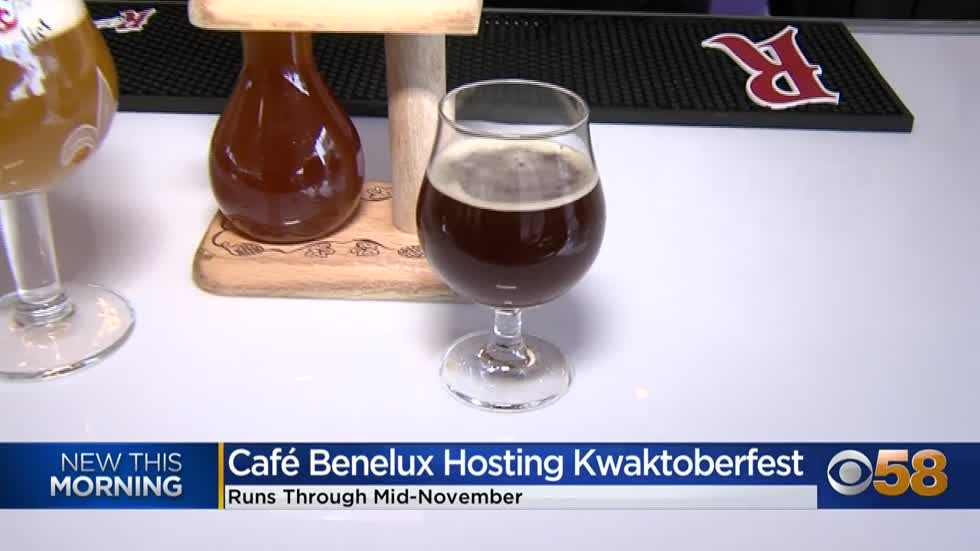 "Belgian beer aficionados: Oktoberfest is ""Kwaktoberfest"" at Cafe Benelux in Milwaukee's Third Ward"