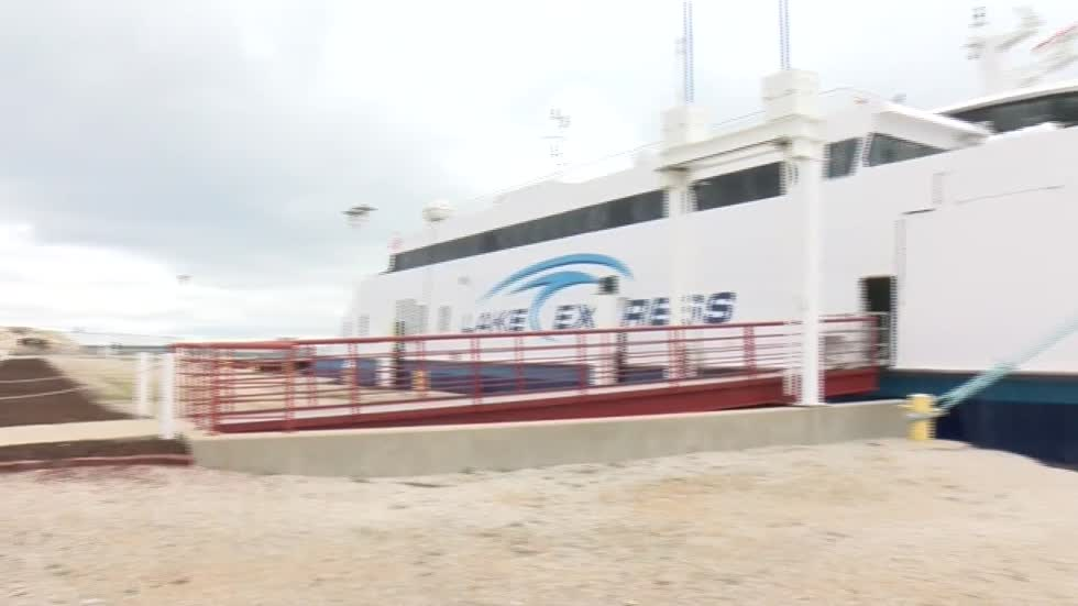 Lake Express ferry returns
