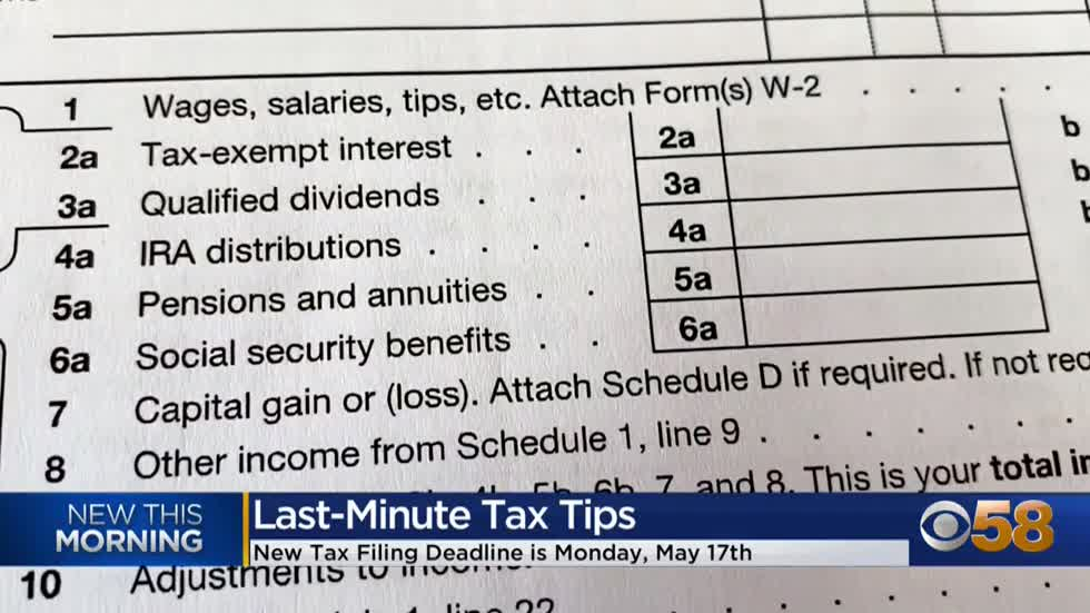 Last minute tax tips -- a money saving plan for procrastinators