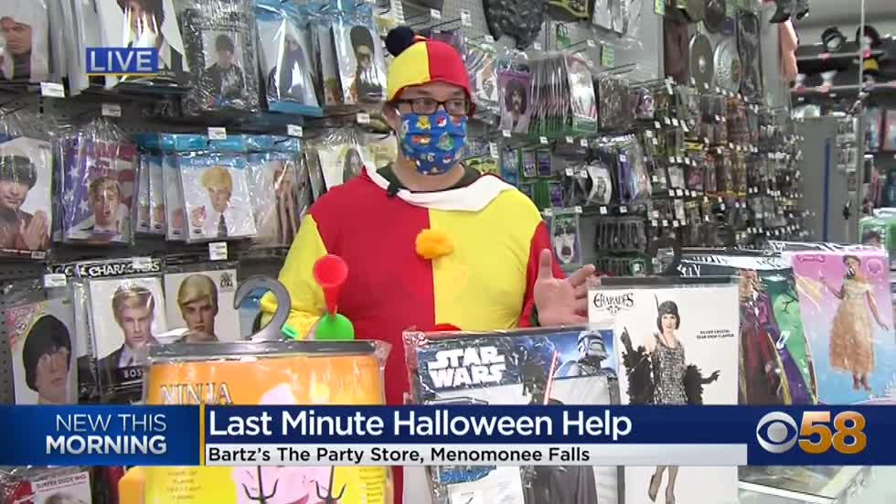 A last minute haven for Halloween shoppers