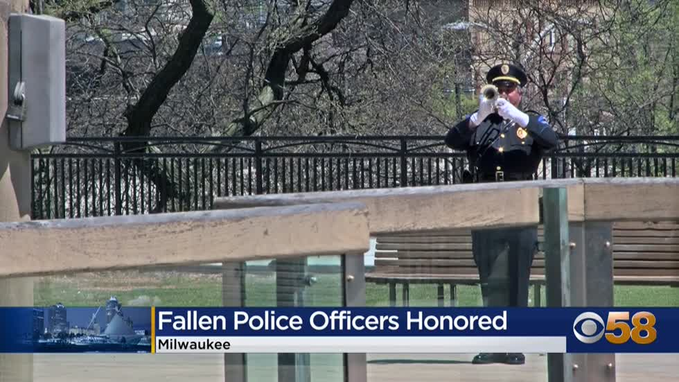 Wisconsin's fallen officers honored in memorial ceremony at...