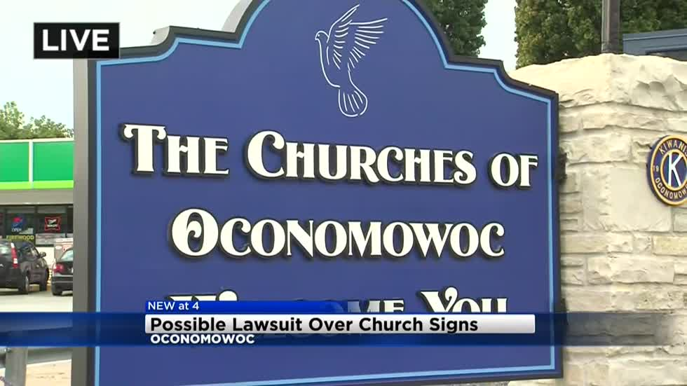 "City of Oconomowoc could soon be facing lawsuit over ""Welcome"" signs"