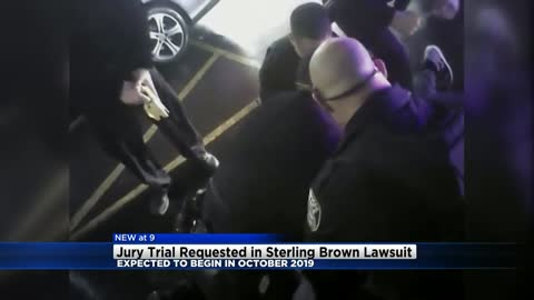 Jury trial requested in Sterling Brown lawsuit