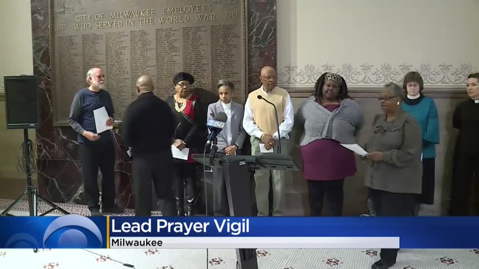 Prayer vigil highlights lead issue in Milwaukee, and what can be done to help