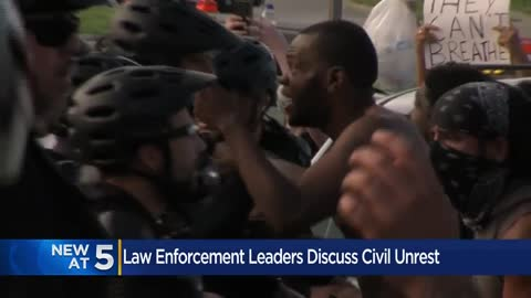 Milwaukee law enforcement leaders discuss civil unrest at roundtable...