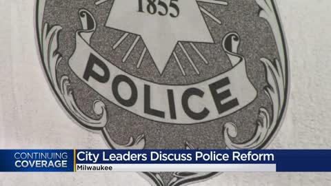 Milwaukee city leaders discuss police use of military-grade equipment for crowd control