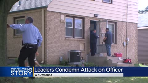 Leaders, activists respond to attack on Wauwatosa Police Officer...