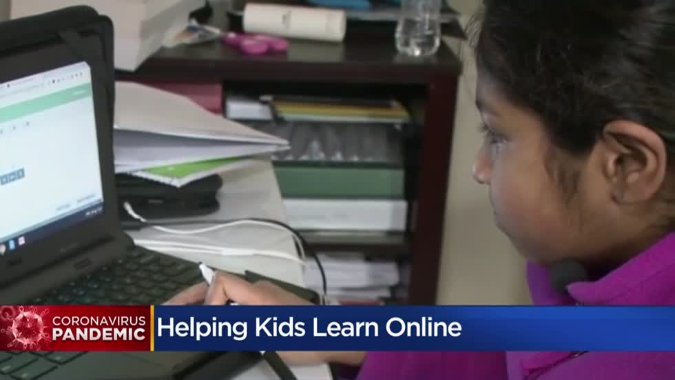 Expert offers advice for helping kids with virtual learning