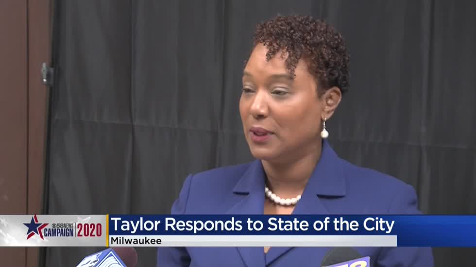 Lena Taylor responds to Barrett's State of the City address