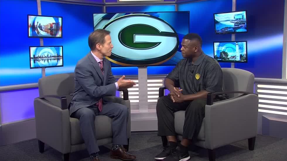 Leroy Butler talks 'Green & Gold 1996 Championship Reunion Party' on the CBS 58 News at 4