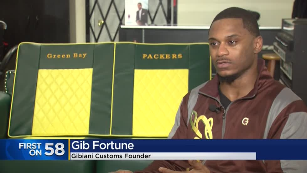 Milwaukee furniture maker hopes to give custom Packers couch to Lil Wayne