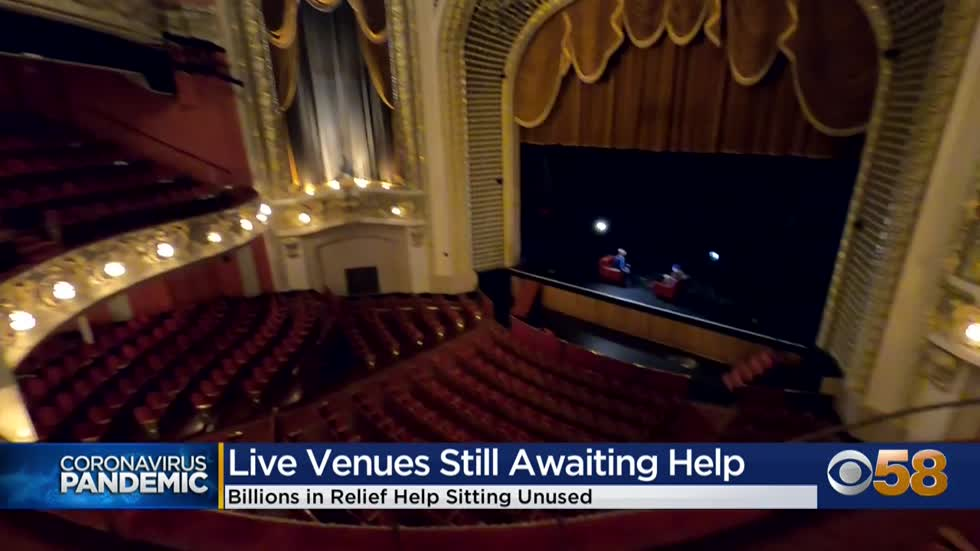 Local live performance venues still awaiting federal relief