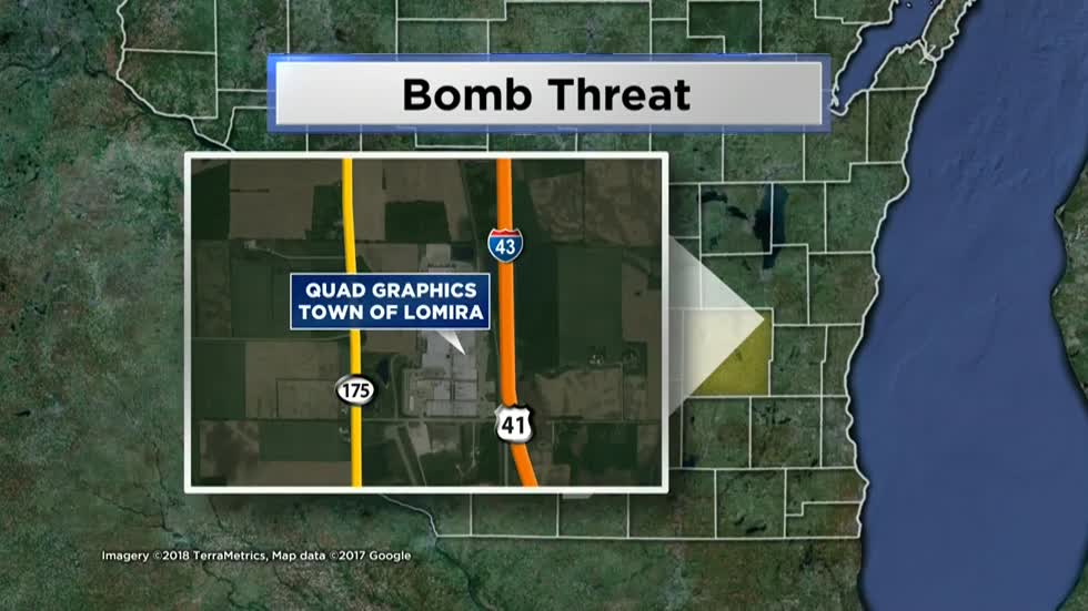 Bomb threat prompts evacuation of Lomira business, no explosives found