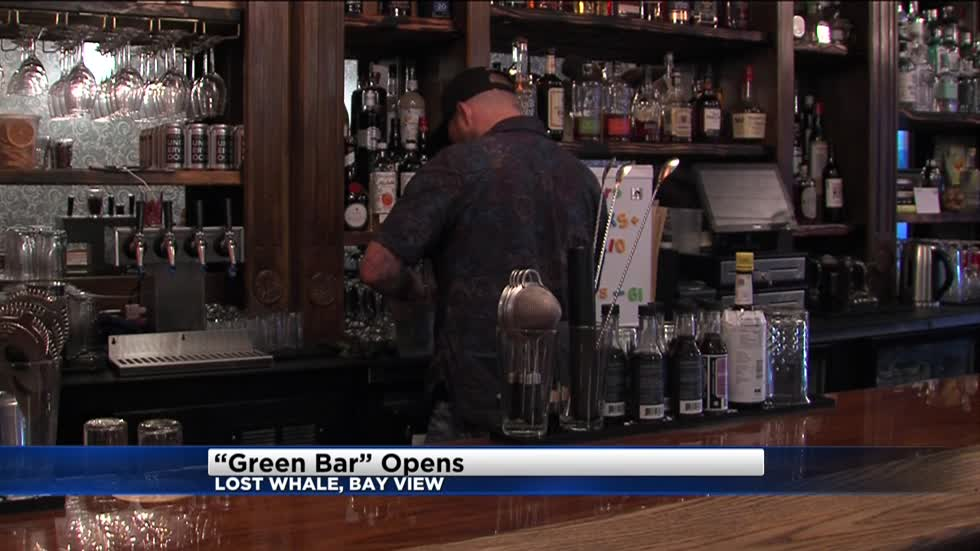 "Bay View gets a ""green"" bar called ""Lost Whale"" & Lakefront Brewery now has a food truck"