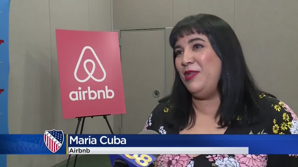 Airbnb announces national partnership at LULAC convention