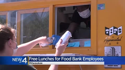 Local company delivers lunches to Feeding America employees