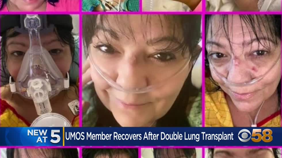 'I'm very thankful:' Community leader recovering after fighting COVID, receiving double-lung transplant
