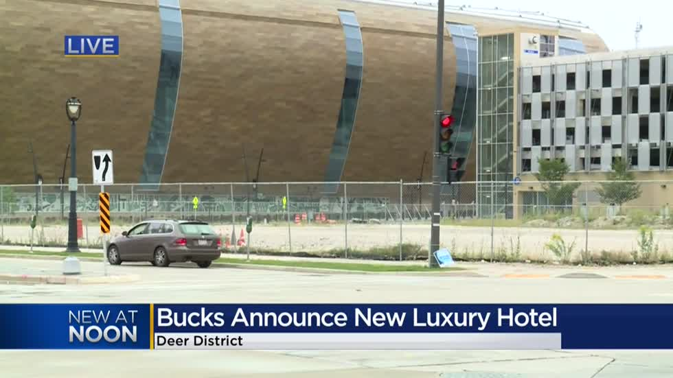 Bucks announce new luxury hotel in Milwaukee's Deer District