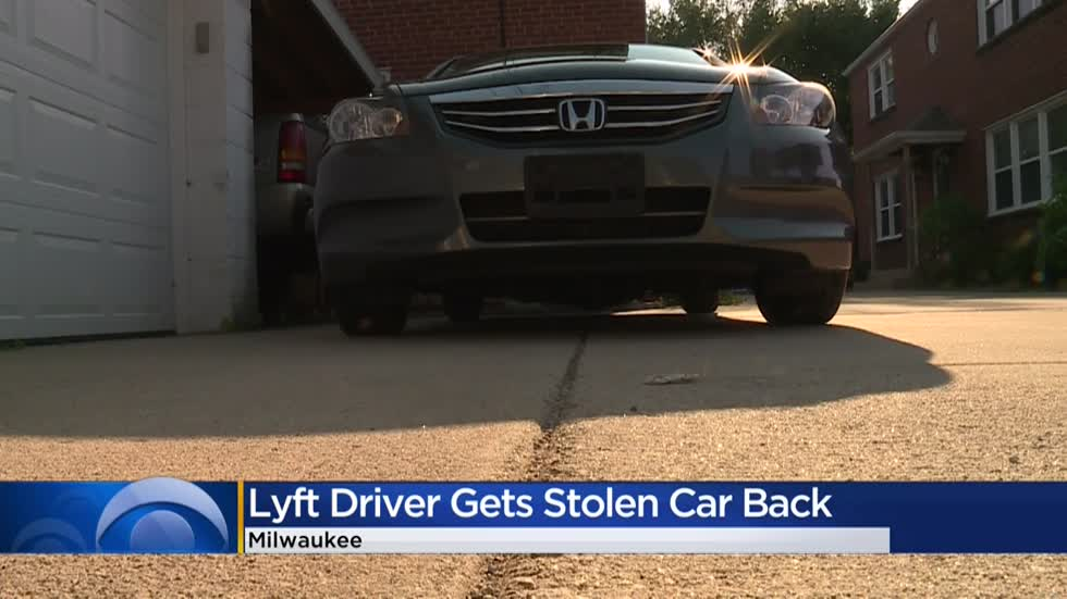 Lyft driver carjacked near Brady Street gets vehicle back