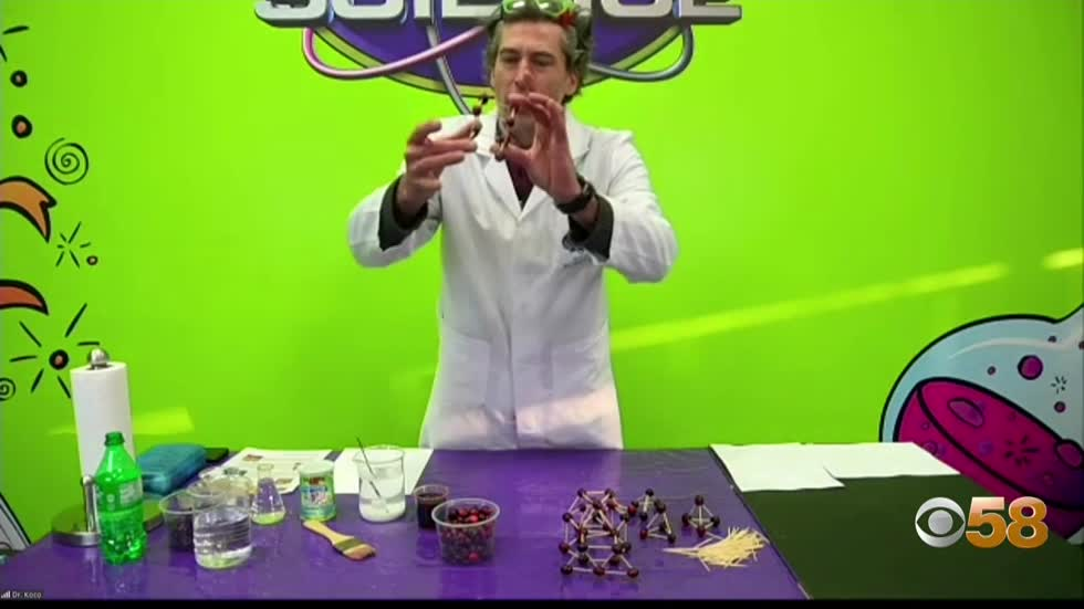 Milwaukee's Mad Science shares at-home experiments for Thanksgiving...