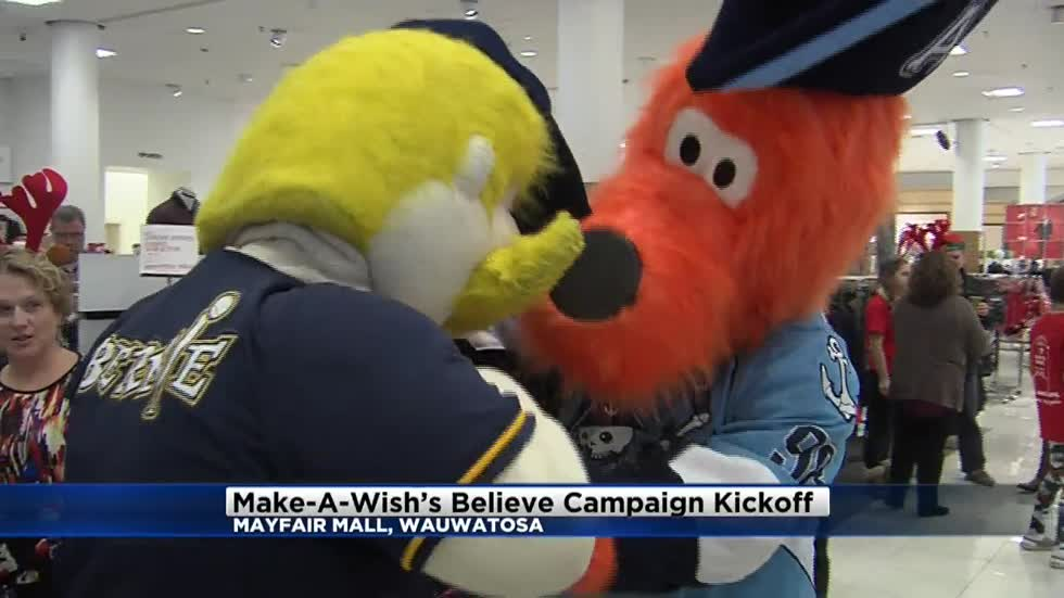 Make-A-Wish's Believe Campaign kicks off at Mayfair Mall