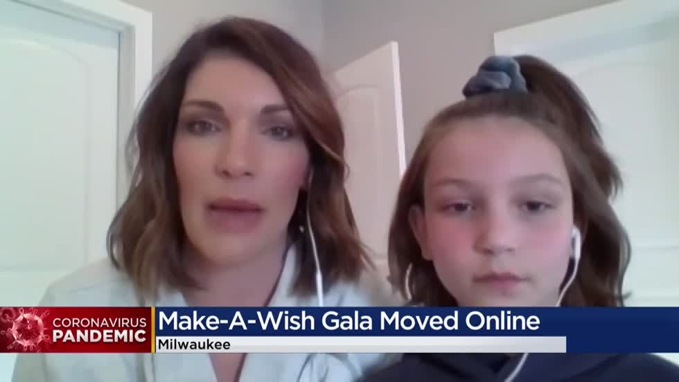 Make-A-Wish Wisconsin postpones nearly 90 wishes due to COVID-19, hosts annual gala online