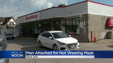 Man says he was pepper sprayed for not wearing mask inside Speedway...