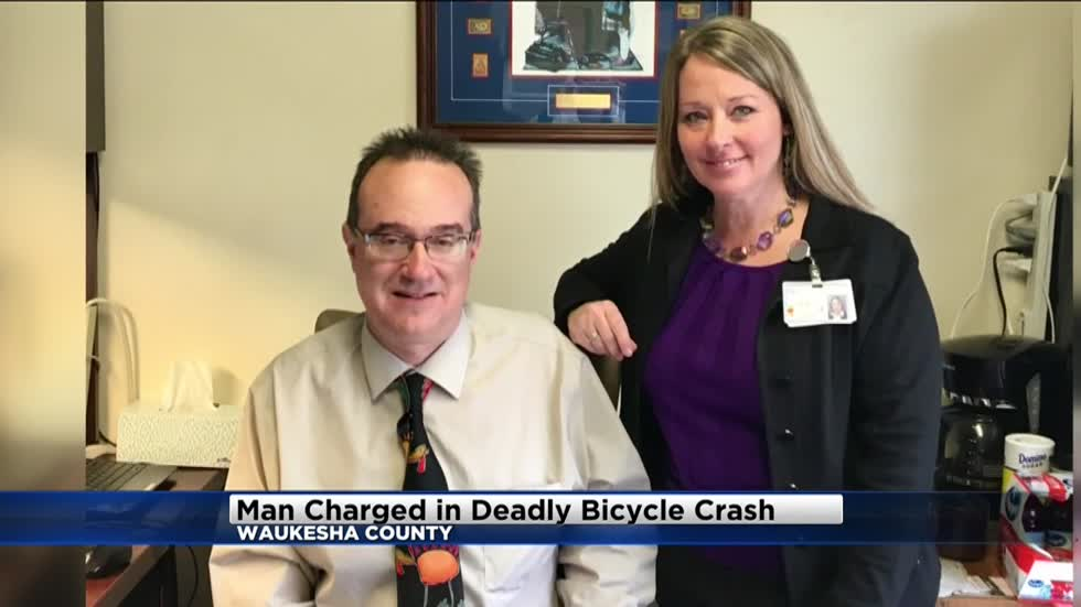 Waukesha man charged in deadly bicycle crash