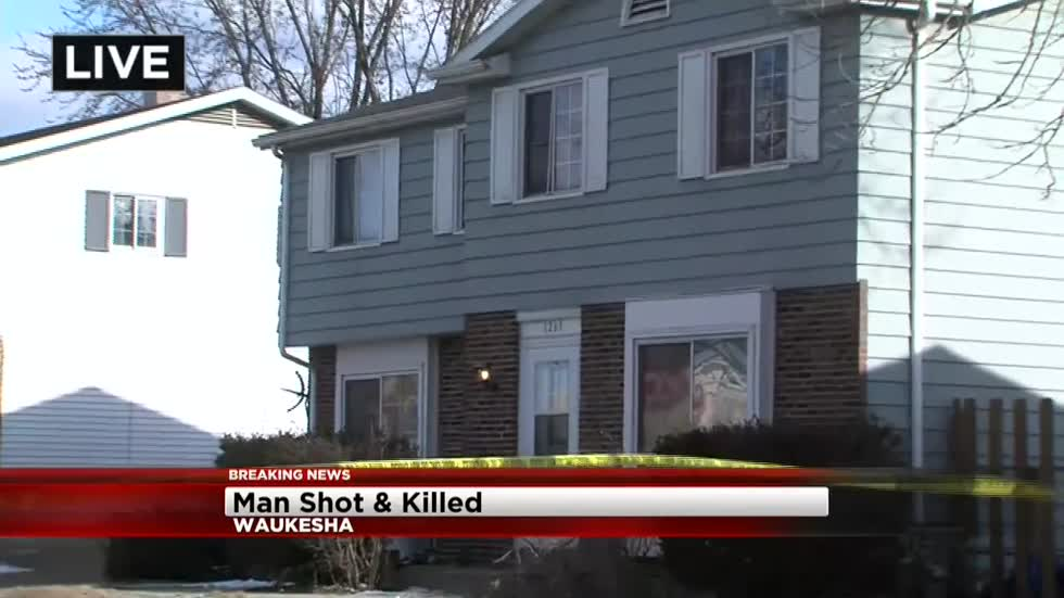 UPDATE: Man in Waukesha fatal shooting identified, suspect in custody