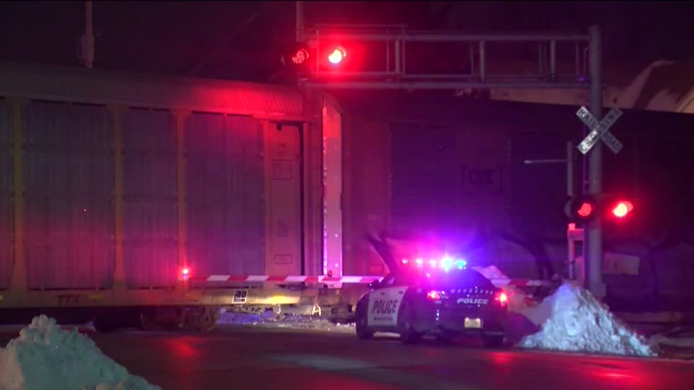 UPDATE: 47-year-old man hit, killed by train in Waukesha