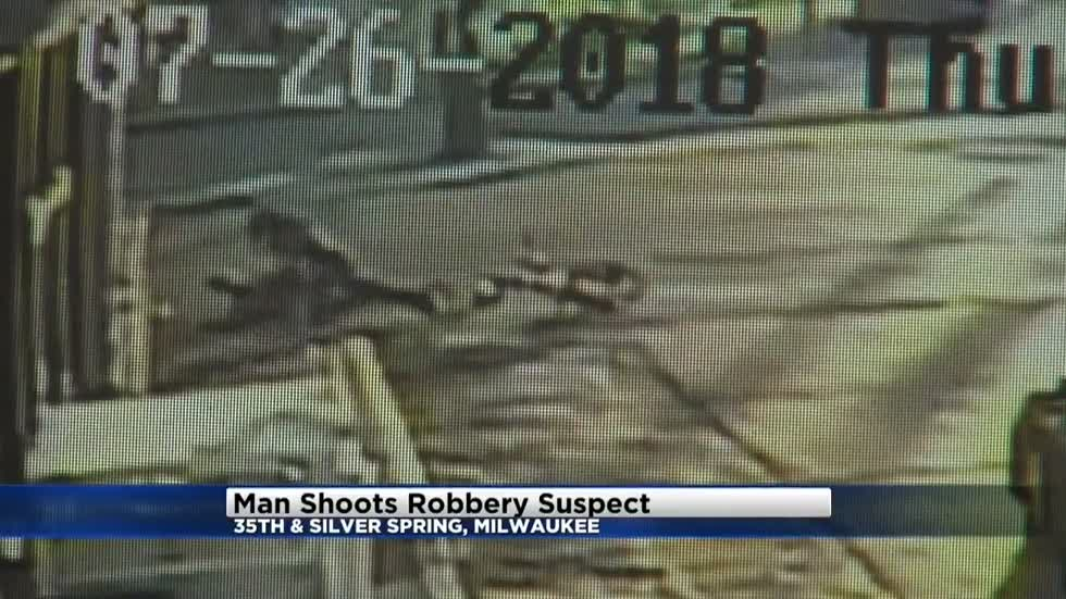 Attempted robbery suspect shot by victim in Milwaukee