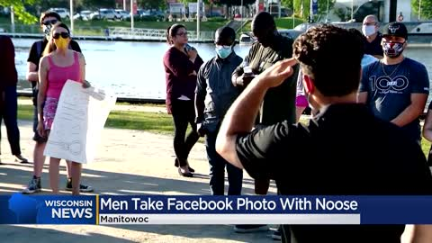 Manitowoc business owners face backlash after taking photograph...
