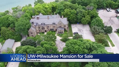 You could own a mansion now for sale on the UW-Milwaukee campus