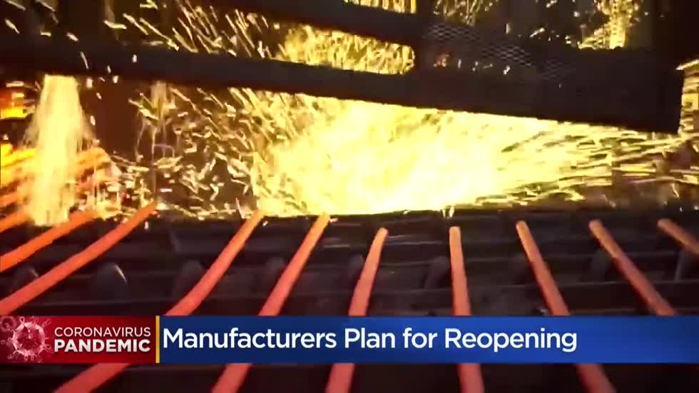 Area manufacturers advised to implement safety guidelines for reopening