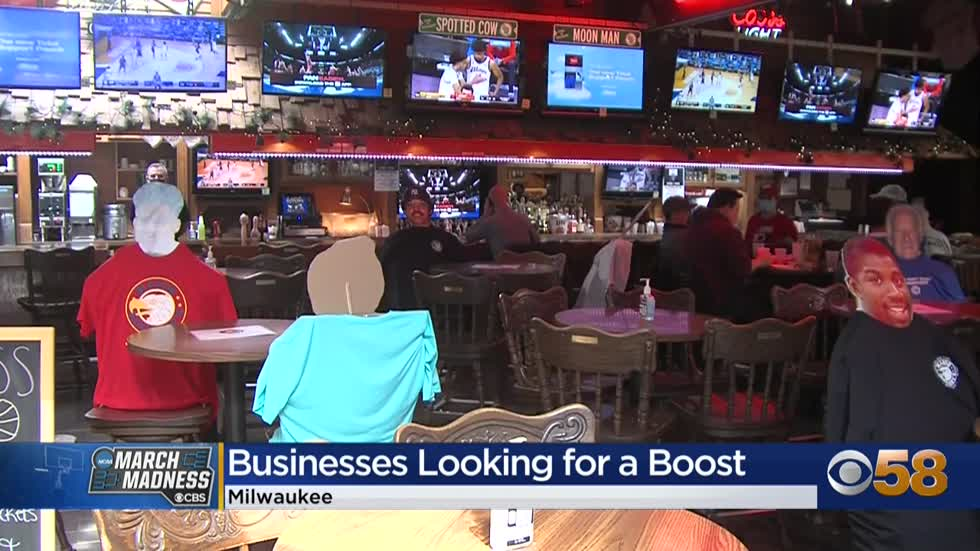 Bars hopeful Badgers game, March Madness season score them more business